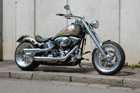 Harley-Davidson Softail Umbau - Softail Silver Magic