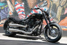 Harley-Davidson Softail Umbau - Softail Black Magic