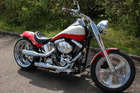 Harley-Davidson Softail Umbau - Softail Red & White
