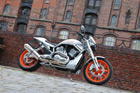 Harley-Davidson V-Rod Umbau - Orange Devil